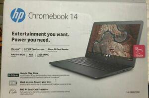 """HP Chromebook 14"""" HD Touchscreen - AMD A4-9120, 4GB , 32GB eMMC-14-DB0025NR"""