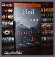 American Gods by Neil Gaiman 10th Anniversary New Collectible Hardcover Edition