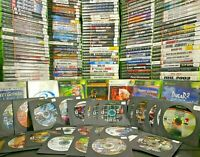 ORIGINAL XBOX GAMES Huge Lot 💥💥YOU PICK GAMES YOU WANT💥💥 CLEANED AND TESTED