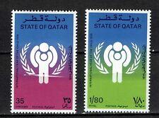 Qatar MiNr. 749-750 postfrisch - Kinder
