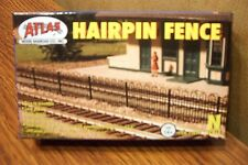 ATLAS MODEL RAILROAD HAIRPIN STYLE FENCE KIT N SCALE