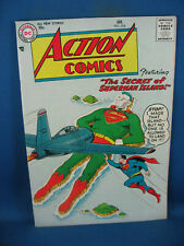 ACTION COMICS 224 VF+ SUPERMAN ISLAND 1957 SHARP