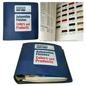 1979-1985 Sherwin Williams Automotive Finishes Colors & Products Book Binder