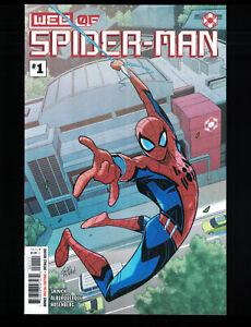 Web of Spider-Man #1 2021 MARVEL Comics 1st Appearance Brigade & Keener NM