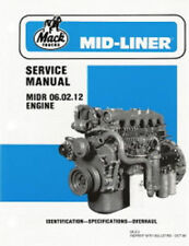 Mack Mid Liner Truck Engine Service Repair Shop Workshop Manual 06.02.12 Mls2
