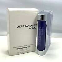 ULTRAVIOLET MAN By Paco Rabanne Eau De Toilette Spray 100ml/3.4oz NEW IN TST BOX