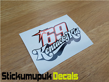 Nicky Hayden Sticker Kentucky Kid MotoGP Moto GP 69 Helmet Sticker 130mm wide