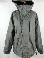 Ripzone Core (RPZN) Men's Insulated Hooded Winter Snowboard Coat Gray Size L