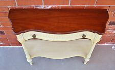 """38.5"""" Wide Painted Wood Federal Style Dove-Tailed Drawer Console Table"""