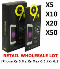 Wholesale Lot Premium 9H Tempered Glass For iPhone Xs / Xs Max / Xr 2018 models