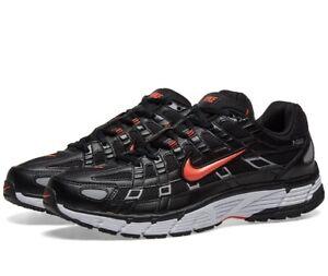 Nike P-6000 UK 8.5 EU 43 Running Black Red CN0150 001