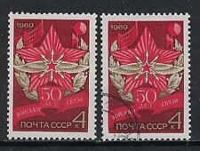 RUSSIA,USSR:1969 SC#3659 MNH & Used 50th anniv. of the Communications Troops of
