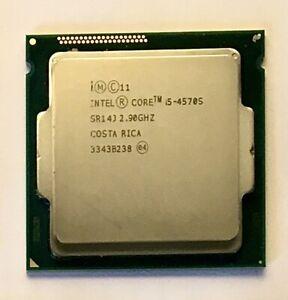 Intel Core i5 - 4570S 2.9GHz  Quad Core Processor Socket LGA1150 SR14J, 4th Gen