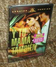 Y Tu Mama Tambien Dvd, New & Sealed, Unrated Version, Region 1, Widescreen