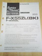 Pioneer Service Manual~F-X55ZL/X55Z/(BK) Tuner~Original~Repair