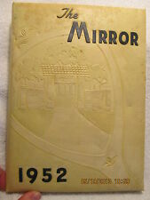 1952 Yearbook Oakland City College IN Indiana Ed Raber With Great Vintage Photos