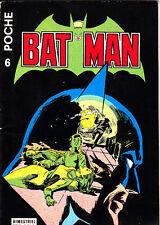 BATMAN POCHE N°6 DE AVR/MAI 1977  TRES BON ETAT