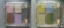 Set of 2 Jordache Palette of 4 Powder Eye Shadows NEW Free S&H