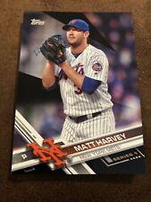 2017 Topps Black Matt Harvey /66 New York Mets 164
