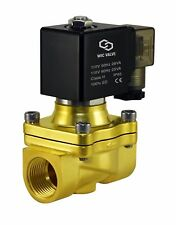 """3/4"""" Inch Electric Air Water Zero Differential Solenoid Process Valve 110V AC"""