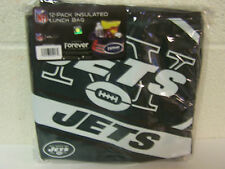 """17' New York Jets Big Logo Insulated Lunch Bag 12 Pack Cooler 10 x 8 x 7"""""""