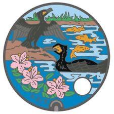 Pathtag 32960 - Ozu Comorants JMC - only 50 made - Japanese Manhole Cover