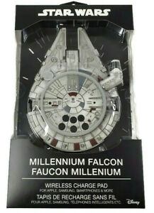 Disney Star Wars Millennium Falcon Wireless Charge Pad For Apple & Samsung New