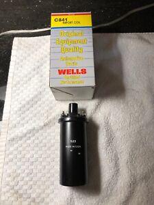 NOS Wells 12V Ignition Coil 76-82 Luv 79-87 Honda 86-88 Hyundai