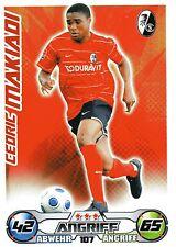 107 Cedric Makiadi - SC Freiburg - TOPPS Match Attax 2009/2010