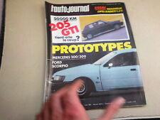 """REVUE  """" L' AUTO JOURNAL """" N° 19  ANNEE  1984  *"""