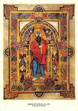 The Book of Kells Illuminated Manuscript of the Four Gospels Postcard