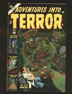 Adventures Into Terror # 25 - Matt Fox art VG/Fine Cond.