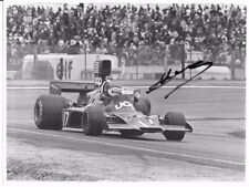 Jean Pierre Jarier SIGNED Original Press Photo  UOP-Shadow-DN3   Spanish GP 1974
