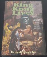 King Kong/King Kong Lives [DVD] - DVD  28VG The Cheap Fast Free Post