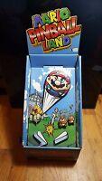 Mario Pinball Land RARE STANDEE/STORE DISPLAY (Nintendo Game Boy Advance)