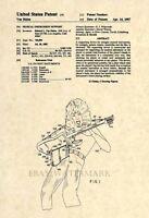 Official Van Halen US Patent Art Print- Eddie Van Halen - Vintage Original 133