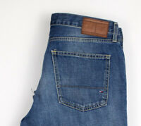 Tommy Hilfiger Herren Mercer Gerades Bein Jeans Größe W33 L30 APZ129