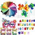 21Pcs Colorés Coupons Feutrine Tissu De Patchwork Feutre Poupée Scrapbooking DIY