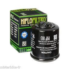 Filtre à huile HifloFiltro HF183 Adiva 125 AD 2007-2008  (Moteur Piaggio )
