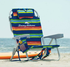 New Tommy Bahama Beach Chair 2020 Backpack Stripe Adjusts to 5 Positions