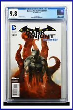 Batman The Dark Knight #24 CGC Graded 9.8 DC December 2013 Comic Book