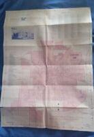 Vintage Map City of ASHLAND OHIO 1979 First Federal Savings & Loan Ephemera
