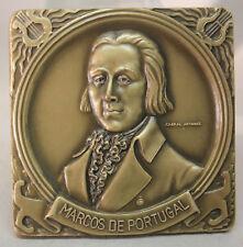 MUSIC/ CLASSICAL ERA/ Portuguese Composer MARCOS DE PORTUGAL Bronze Medal