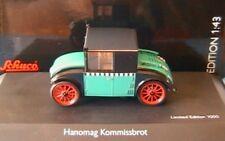HANOMAG KOMMISSBROT TAXI SCHUCO 02976 1/43 1:43 GERMAN GRUN SCHWARZ BLACK GREEN