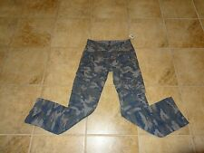 BOYS SIZE 12 BLUE CAMOUFLAGE UTILITY PANTS BY EPIC THREADS **NWT**