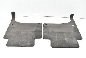 2003-2010 Porsche Cayenne Rear Floor Mat Set Pair 03-10