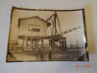 Vintage Photograph Lumber Yard Railroad Photo - Collectible Railroad Memorabilia