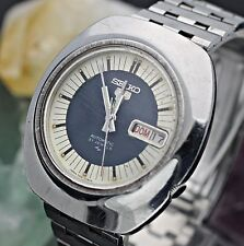 Circa 1972 SEIKO 5 Automatic 7019-7180 Stainless Steel 38mm Men's Watch L8