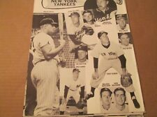 JKW 1963 New York Yankees MANTLE,MARIS,FORD + BONUS