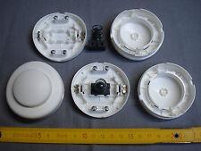 1 interrupteur à poussoir, à pied, diamètre 65 mm, blanc (réf A)